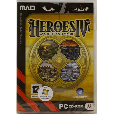 Heroes of Might and Magic IV 4 PC CD Game (Heroes Of Might And Magic 4 Patch)