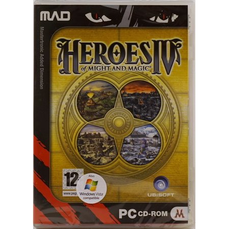 Heroes of Might and Magic IV 4 PC CD Game (Heroes Of Might And Magic 3 Complete)