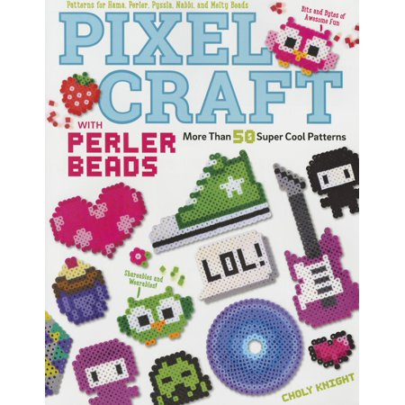 Pixel Craft with Perler Beads: More Than 50 Super Cool Patterns: Patterns for Hama, Perler, Pyssla, Nabbi, and Melty Beads (Paperback) - Hama Bead Halloween Designs