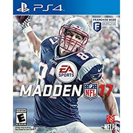 Madden NFL 17 - Playstation 4 PS4 (Refurbished)