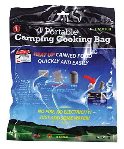 SE Cooking Bag Set Portable, 12 Pc CA1010H by SONA ENTERPRISES
