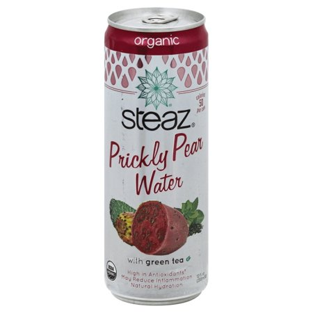 Steaz Organic Prickly Pear Water With Green Tea, 12.0 FL OZ ()