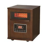 Dura Heat Infrared Quartz Heater with Wood Cabinet