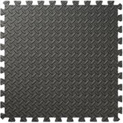 4 Piece 24 inch(s)  x 24 inch(s)  Grey EVA Foam Interlocking Mat