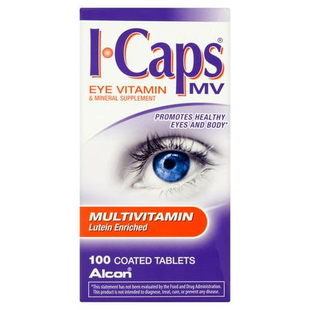 ALCON ICAPS multivitamines et