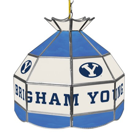 NCAA BYU Brigham Young University 16 Inch Handmade Stained Glass