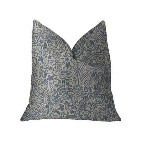 Plutus PBKR1971-2036-DP Kingston Waverly Blue & Ivory Luxury Throw Pillow, 20 x 36 in. King - image 3 of 3