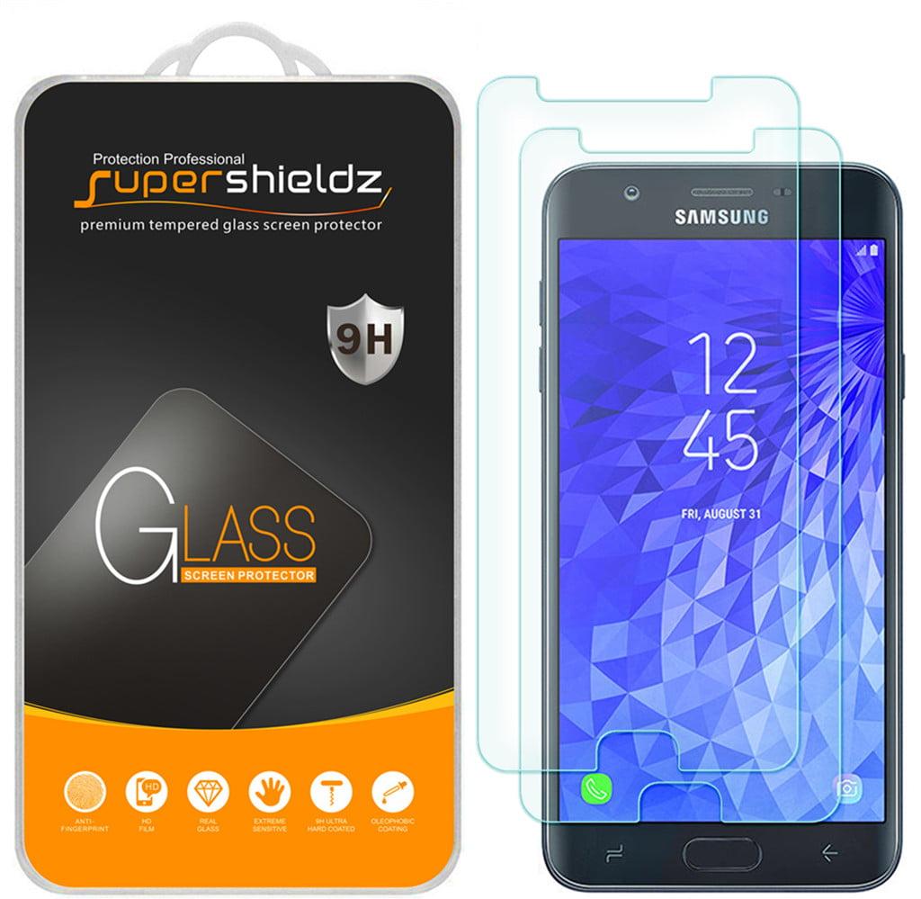 Crack Saver J7 Refine SM-J737 2X Nakedcellphone 9H Hard Clear Screen Protector Guard Galaxy J7 2018//Refine//Star Tempered Glass for Samsung Galaxy J7 2018 J7 Star J7 Aero