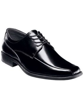 Stacy Adams CANTON Mens Black Leather Oxford Dress Shoes (Wide (E, W)