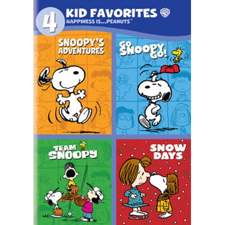 4 Kid Favorites: Happiness Is... Peanuts (DVD) (Peanuts Thanksgiving Special)