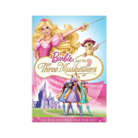 Barbie and The Three Musketeers (DVD) (Three Musketeers Barbie)