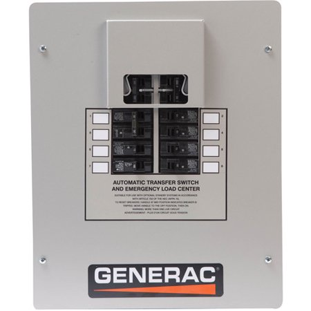 Generac 5837 Core Power 7kW 120/240V Single Phase Air-Cooled Standby  Generator with EZ Transfer Switch (CARB)