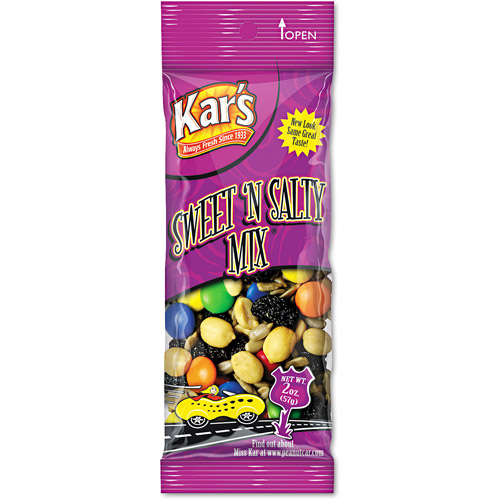 Kar's Nuts Sweet 'N Salty Mix Caddy, 24 ct