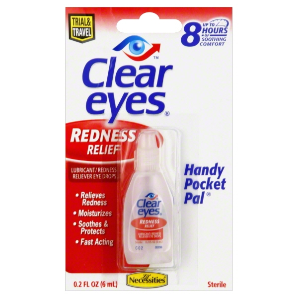 Lil' Necessities Clear Eyes Redness Relief Handy Pocket Pal 0.20 oz