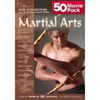 Martial Arts 50 Movie Pack (DVD)