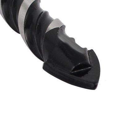 8mm Tip 110mm Length 6mm Shank Triangle Head Ceramic Tile Twist Drill Bit 2pcs - image 1 de 3
