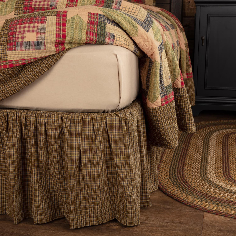 Tea Cabin Twin Bed Skirt Walmart Com Walmart Com
