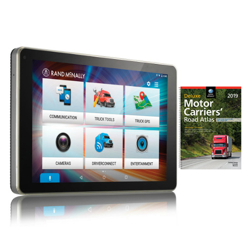 Rand McNally OverDryve 8Pro with Atlas OverDryve Pro-8inch