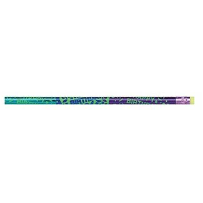 J. R.  Moon Pencil JRM1505B Thermo Happy Birthday Assorted 12Bx- Pencils