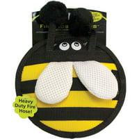 "Hyper Pet Firehose Flyers Bumble Bee Dog Toy, 6.5"""
