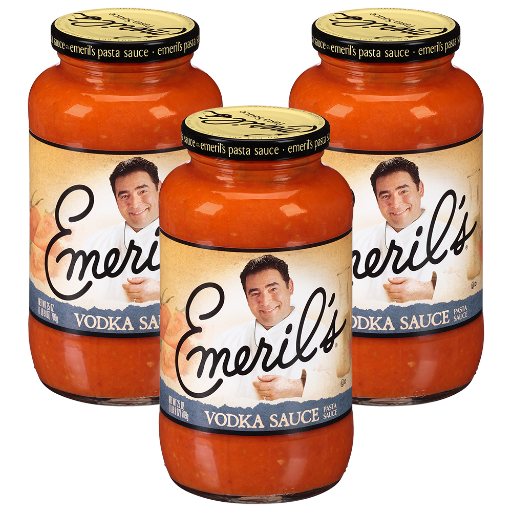 (3 Pack) Emeril's Vodka Sauce 25 oz Jar