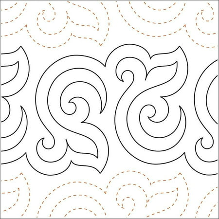 - Quilting Creations Printed Tear Away Quilting Paper, Bourbon Street Baby 6