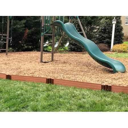 "Frame It All Classic Sienna Straight Playground Border 16' – 1"" profile"