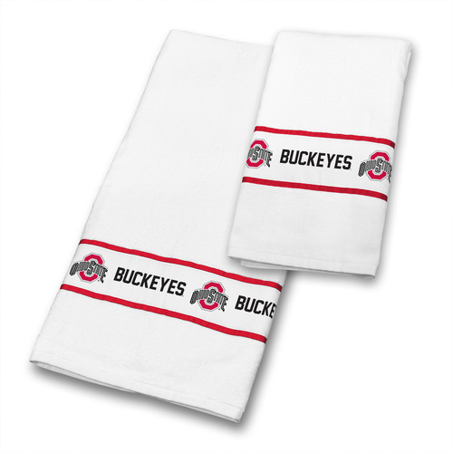 Sports Coverage Inc. Ohio State 2 Piece Towel Set