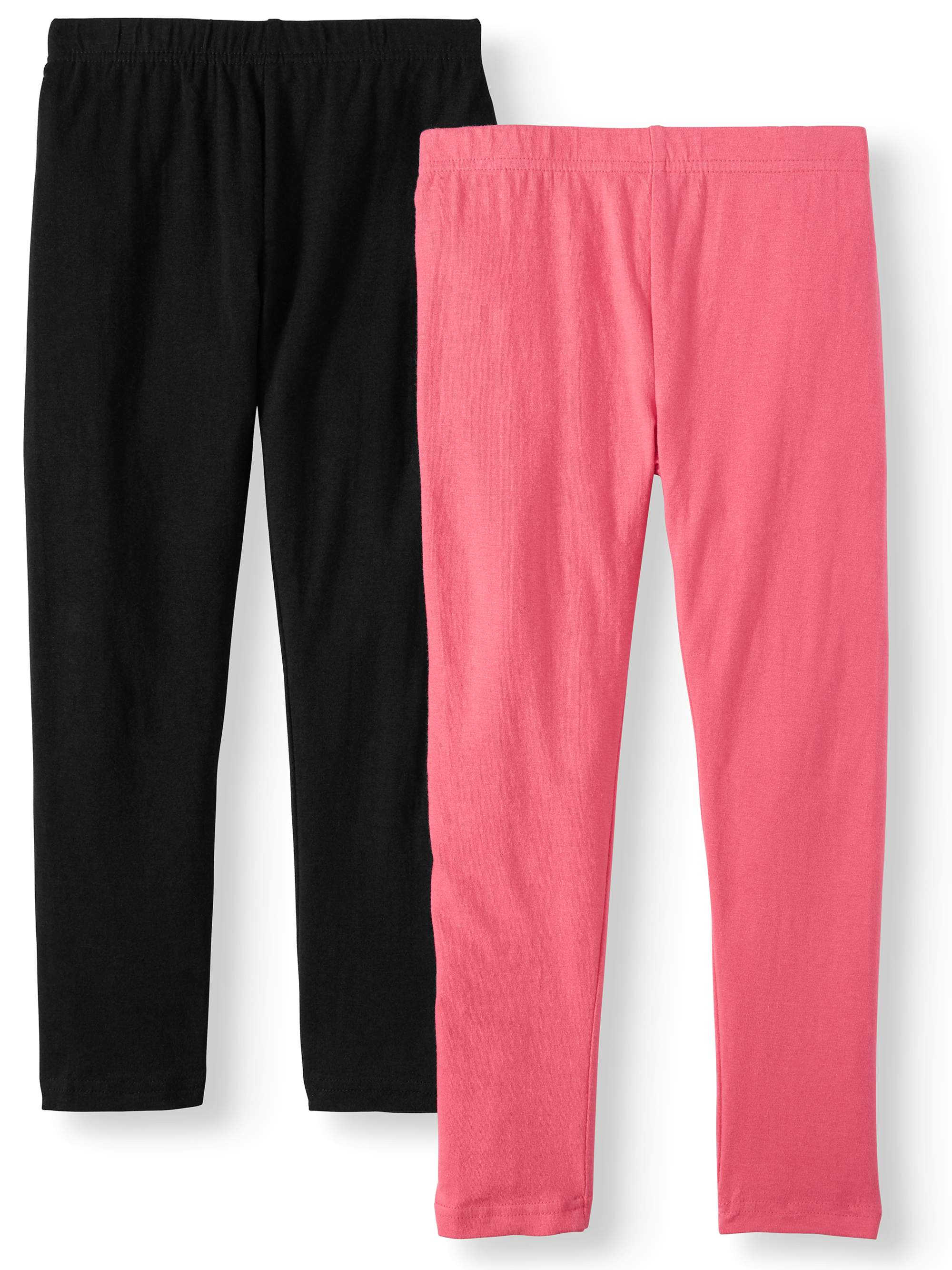 Solid Leggings, 2-Pack (Little Girls & Big Girls)