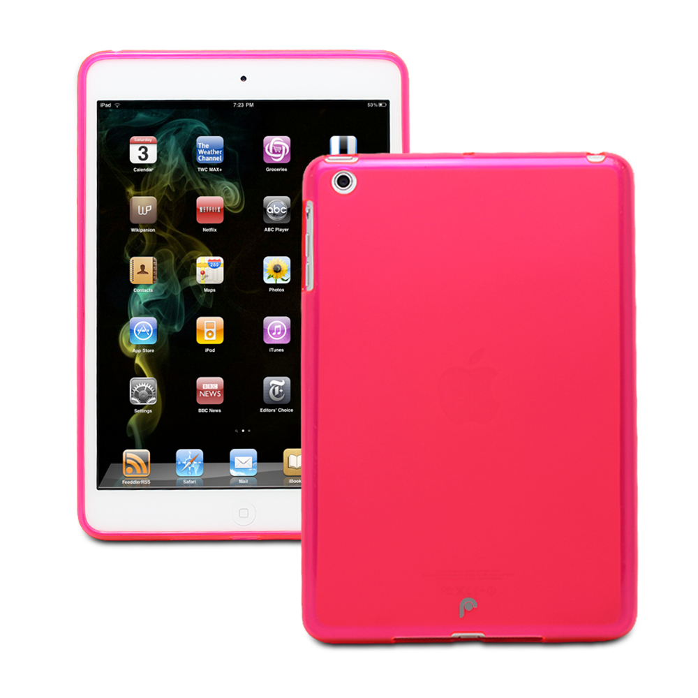 Fosmon DURA FROST SERIES Protective Skin Case for Apple iPad Mini 7.9 inch Tablet (Pink)