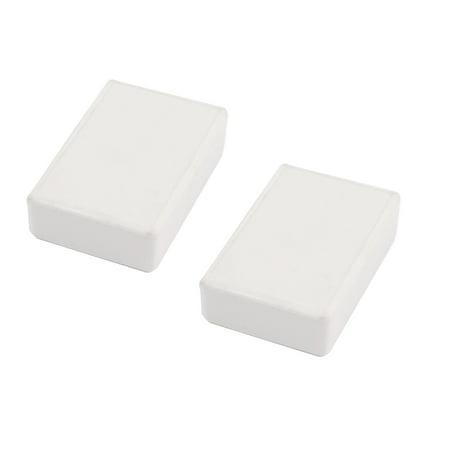 2Pcs 70x46x18mm Sealed Plastic Enclosure Electronic Project Case Junction -