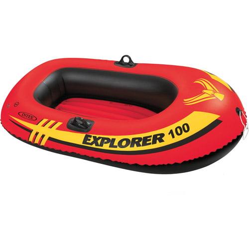Intex Explorer 1-Person Inflatable Boat, Orange