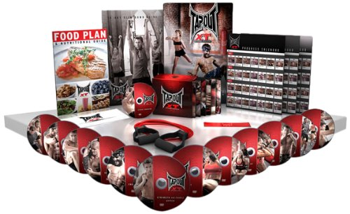 TapouT XT TV Special XT and Leg Bands Diet Plan Workout Chart 1 12 DVDs and 1 Bonus DVD by
