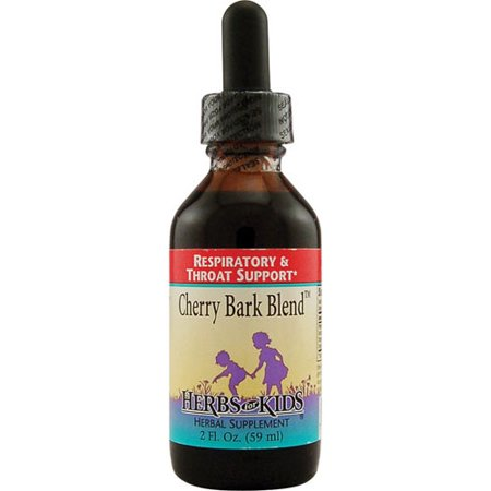 Herbs For Kids Respiratory And Throat Support Cherry Bark Blend - 2 Oz