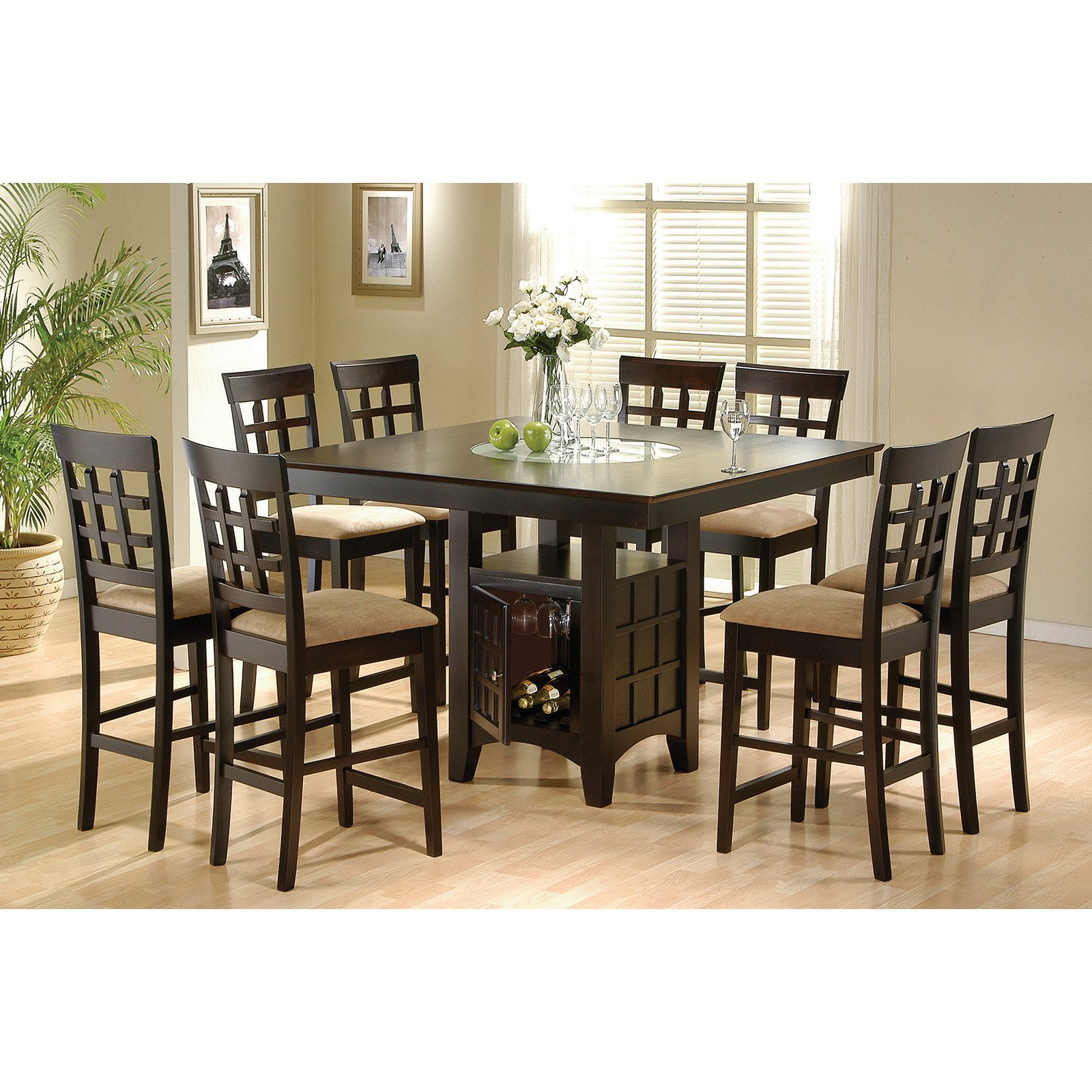 Coaster Furniture Gabriel Counter Height Dining Table