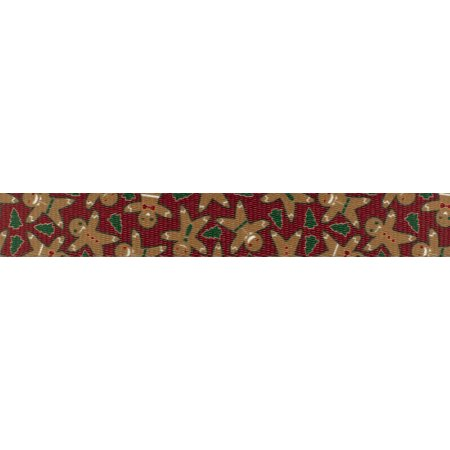 Country Brook Design | 5/8 Inch Gingerbread Polyester Webbing