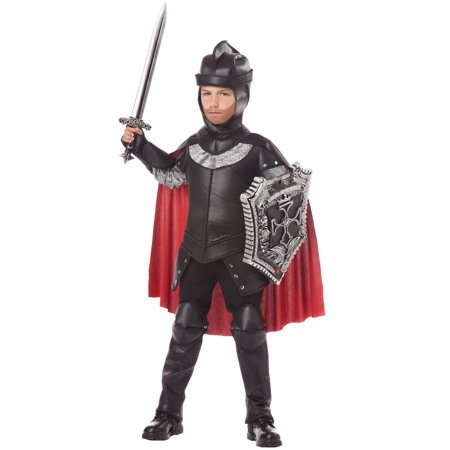 The Black Knight Child Costume](Kid Knight Costume)