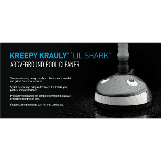 Pentair Kreepy Krauly Lil Shark Above Ground Swimming Pool Cleaner