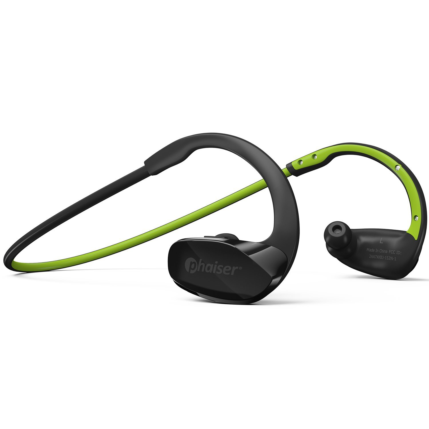 Phaiser BHS-530 Wireless Bluetooth Headset, Sport Headphones/Earbuds