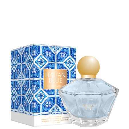 Italian Blue Women by Preferred inspired by DYLAN BLUE POUR FEMME WOMEN This fragrance is crafted by master perfumers using only high quality essential oils normally found in the most expensive designer perfumes and colognes. This is the reason for its long lasting scent. Enjoy a high quality, luxury experience at about a third of the price of a traditional designer Fragrance. This perfume is recognized as being the best alternative to the original