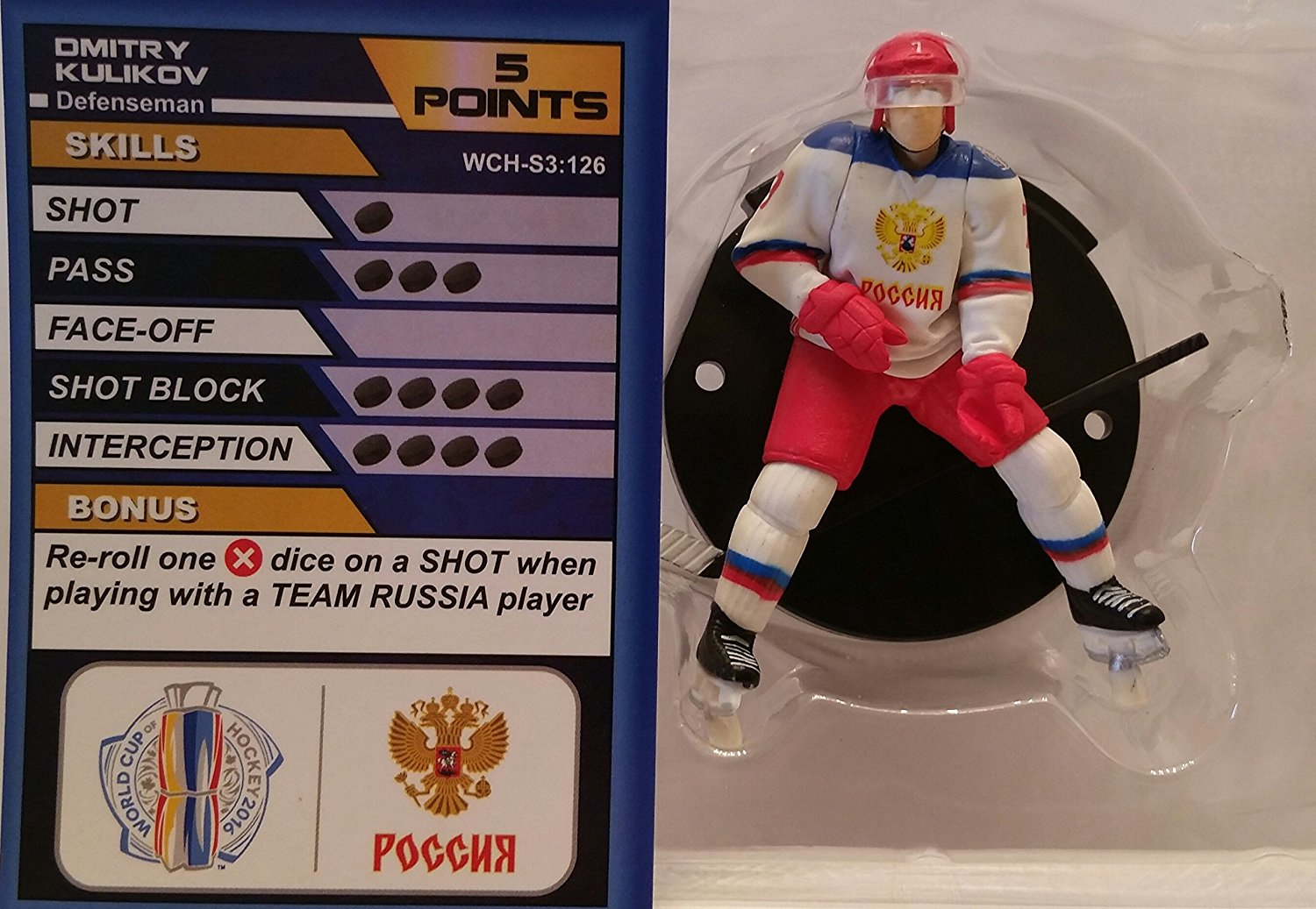 World Cup of Hockey Team Russia Dmitry Kulikov (Common) by