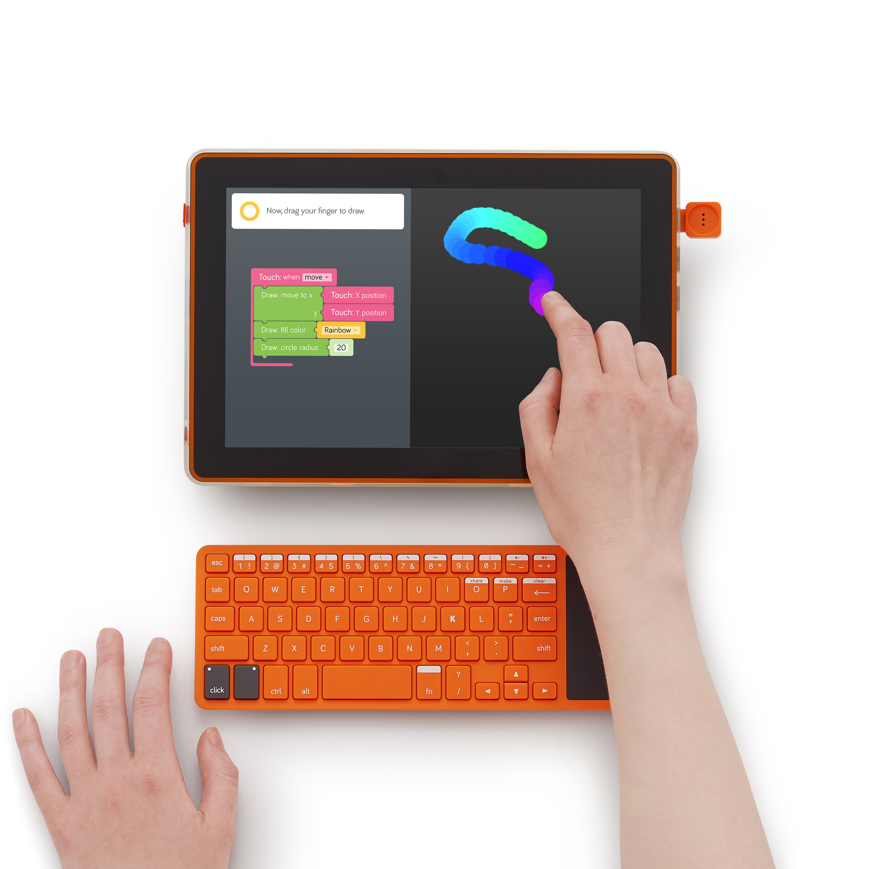 Kano Computer Kit Touch – Build a tablet. Learn to code. Play.
