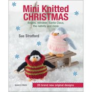 Search Press Books Mini Kntted Christmas