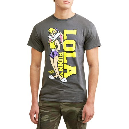 Men's Space Jam Lola Bunny Short Sleeve Graphic (Authentic Jordan 11 Space Jam For Sale)