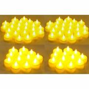 Instapark® LCL-144 Battery-powered Flameless LED Tealight Candles, 12-Dozen Pack