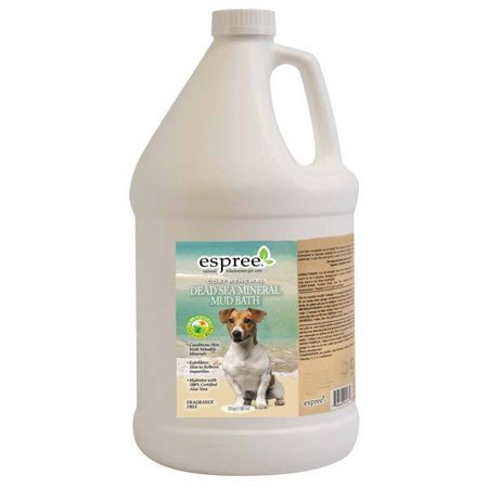 Dead Sea Mineral Spa Mud Bath For Pets Natural Grooming Treat Gallon Size