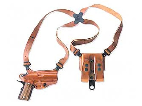 Galco Miami Classic Shoulder Holster, Fits Walther PPK S, Right Hand, Tan Leather by Galco