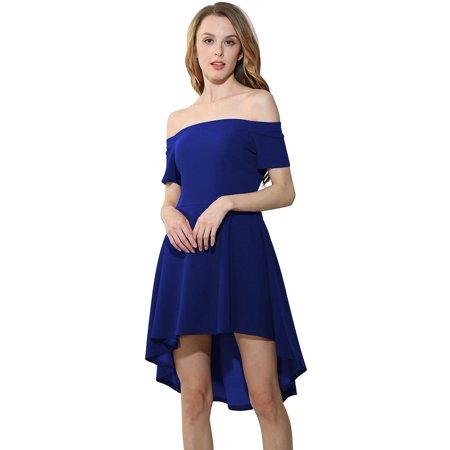 Off Shoulder Dresscoxeer Formal Dresses Irregular Dresses Evening