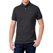 Tommy Hilfiger NEW Charcoal Gray Mens Medium M Custom-Fit Polo Shirt