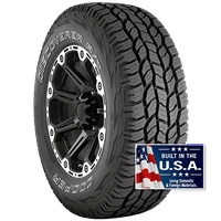 Cooper DISCOVERER A/T 235/75R15 105T Tire 60,000